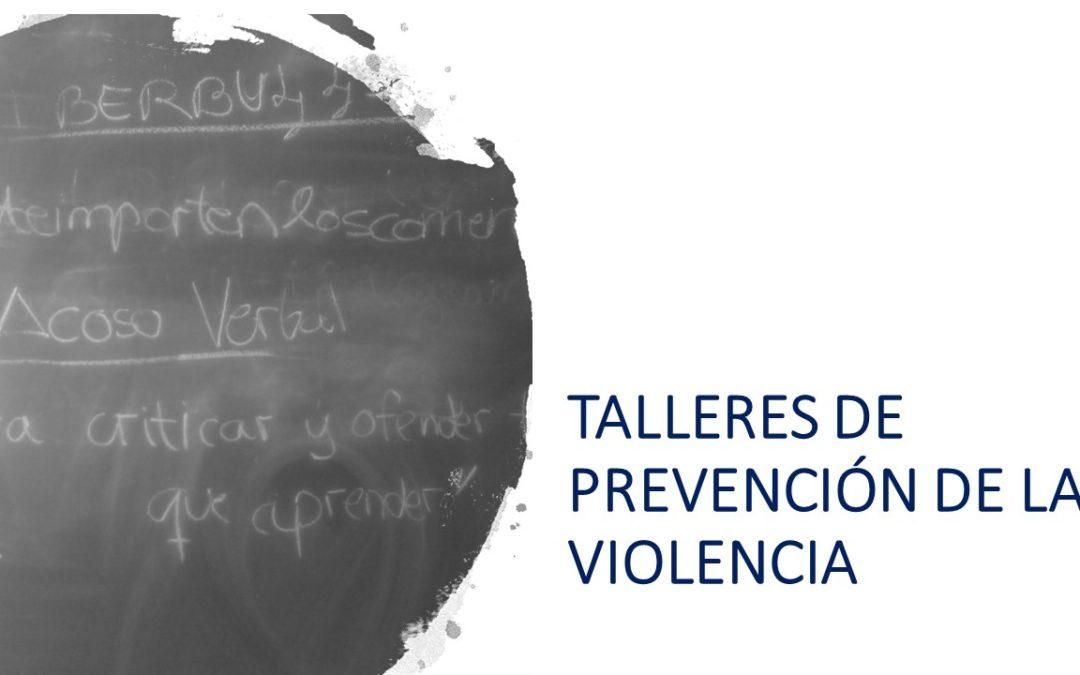 Secundaria. Taller de prevención de la violencia
