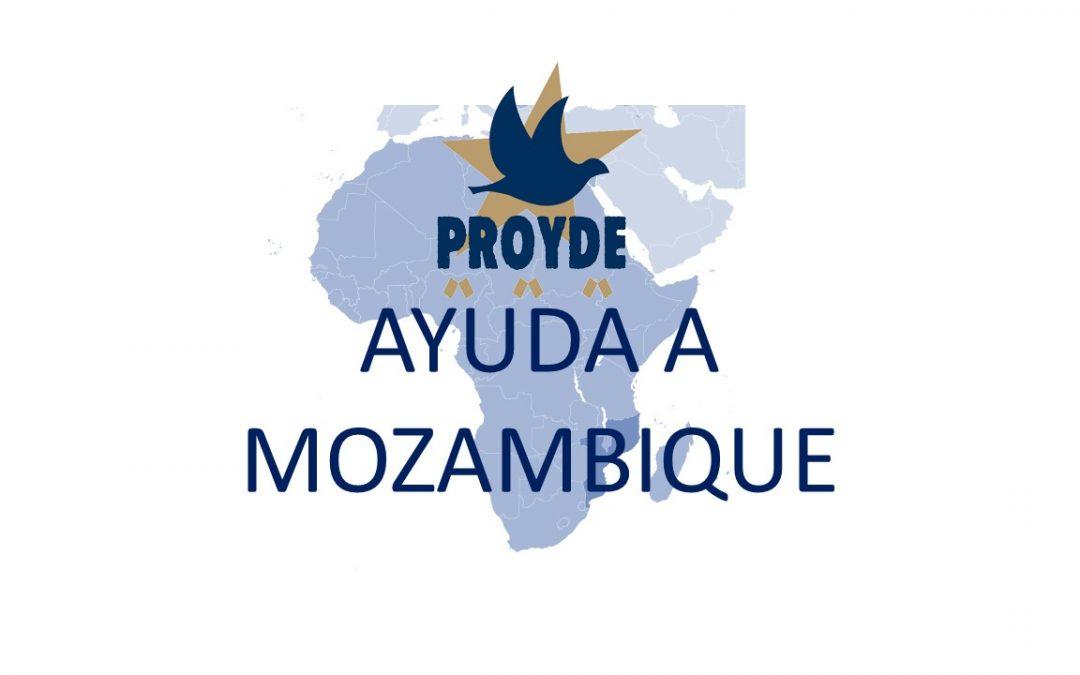 PROYDE. Ayuda de emergencia a Mozambique