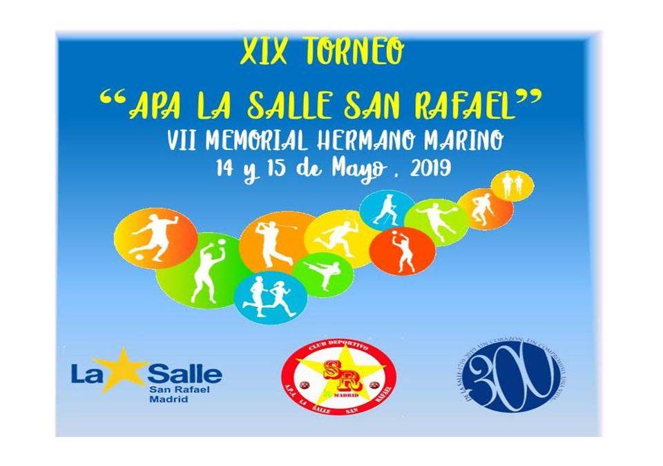 XIX Torneo APA La Salle San Rafael