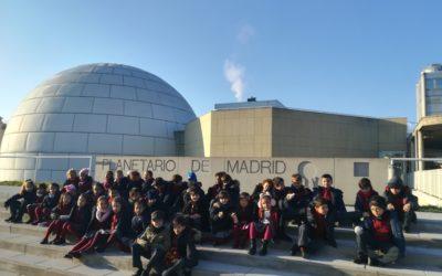 Primaria. Inicio del proyecto «Dentro de mi telescopio»