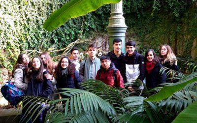 ESO. Clase en el Jardín Botánico