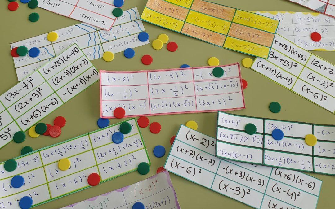 ESO. Aprendizaje de las matemáticas basado en juegos