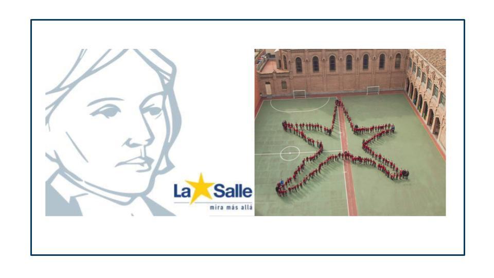 Imagina La Salle. Celebrando 301 años juntos.