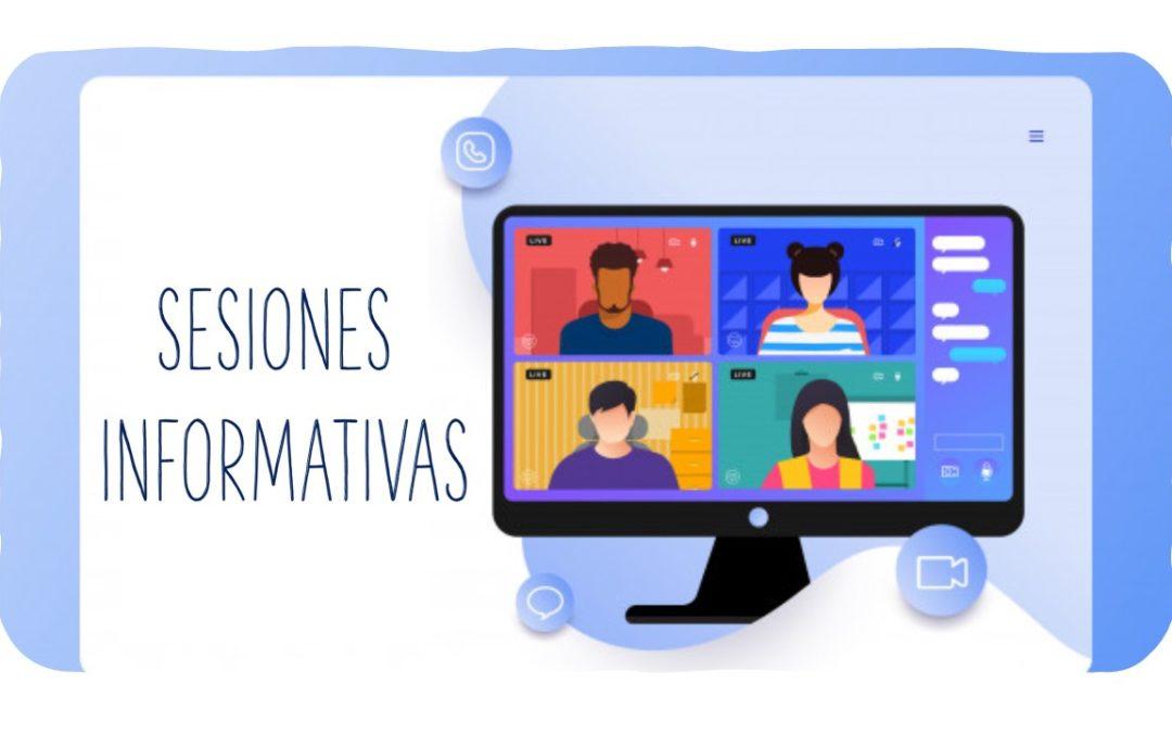 Curso 2020-2021. Sesiones informativas para familias