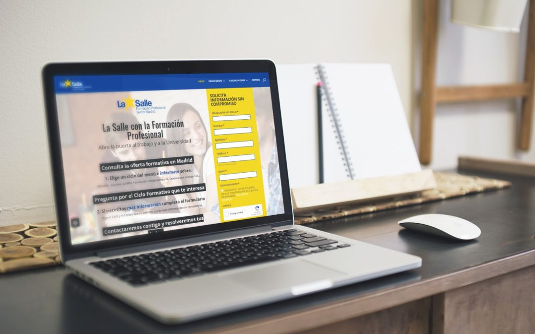 Nueva web de Formación Profesional del Sector Madrid