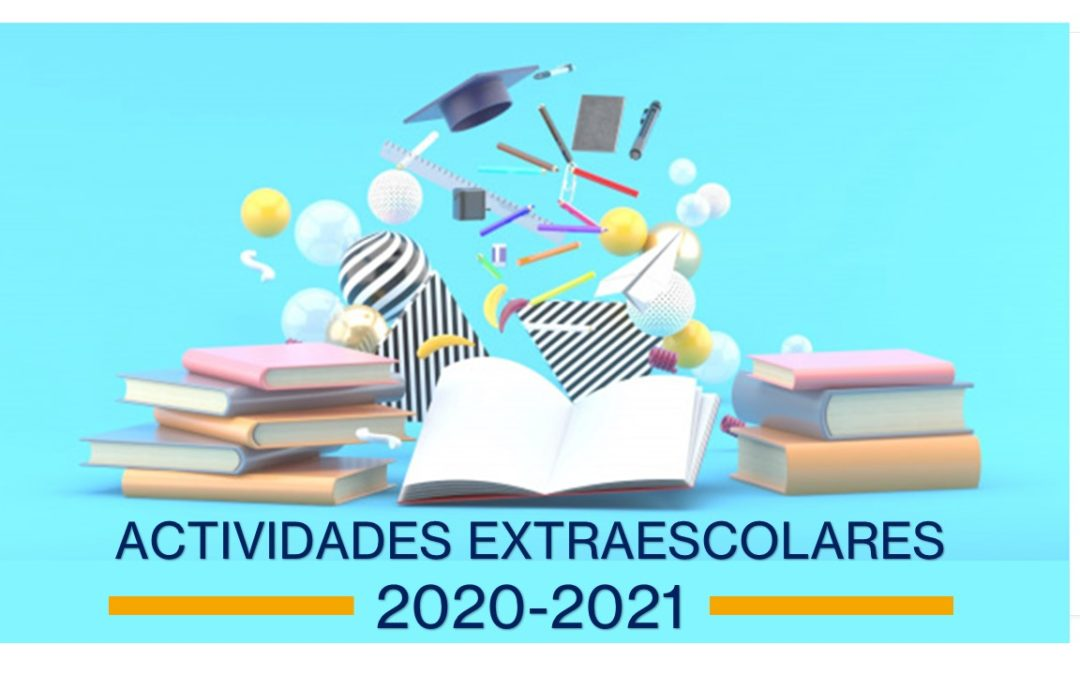 Oferta de extraescolares curso 2020-2021