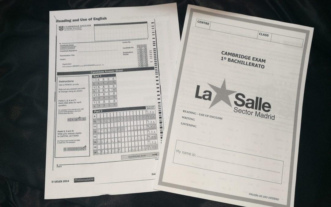 Secundaria. Exámenes de First Certificate